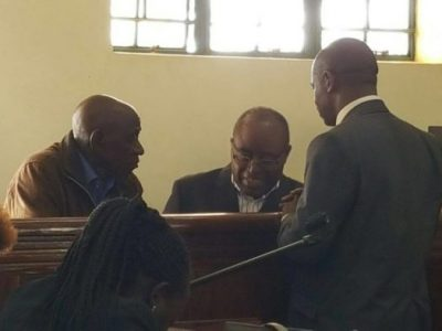 Mumbere in court