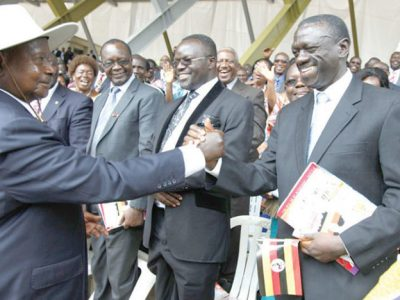 President Museveni and Dr. Kizza Besigye