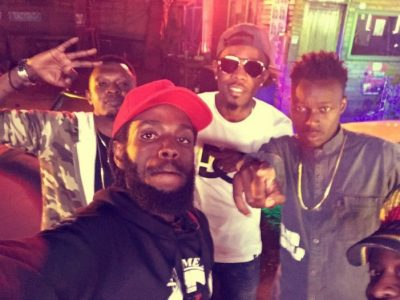Patoranking with fans