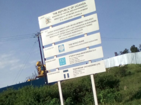 Signpost of proposed project