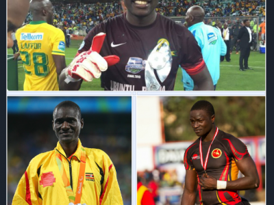 Denis Onyango, David Emong and Phillip Wokorach