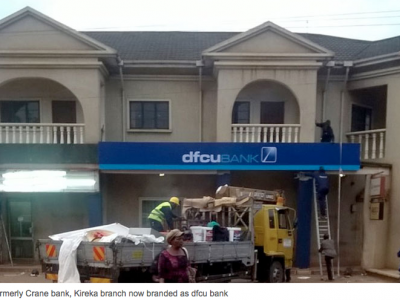 A former Crane bank that is now branded DFCU