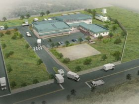 Artist's Impression of the proposed Soroti Fruit Factory