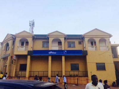 The newly branded DFCU in Ntinda