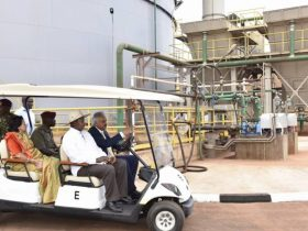 President Museveni was present to launch the new institution
