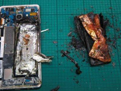 Exploded Samsung Note7